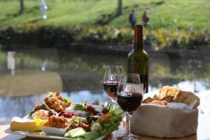 lunch at Brick bay winery