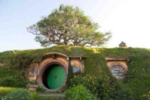 bagend at hobbiton movie set on a auckland to hobbiton tour