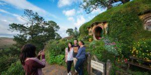 small group tour Auckland to Hobbiton