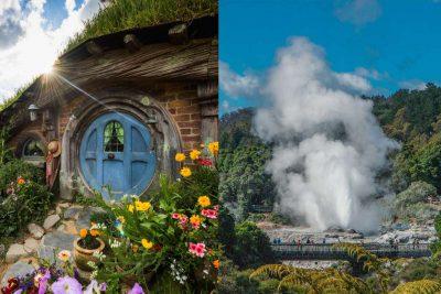 Hobbiton and Rotorua day tour from Auckland