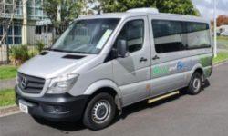 Charter bus rental
